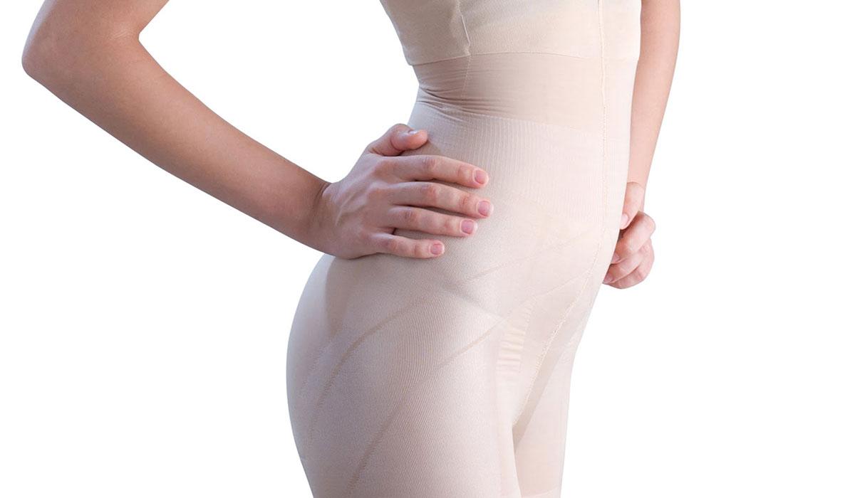 علاج الكدمات بعد شفط الدهون بالملابس الضاغطة والأدوية